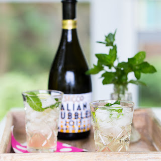 Mint Ginger Spritzer | Tipsy Tuesday