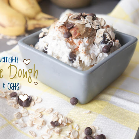 Cookie Dough {Overnight} Chia & Oats