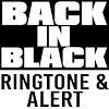 Back in Black Ringtone & Alert