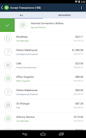 Screenshot of QuickBooks Online