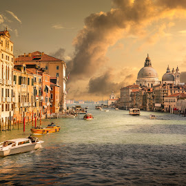 Grand Canal, Venice by Nick Moulds - City,  Street & Park  Historic Districts ( grand canal, venice, italy )