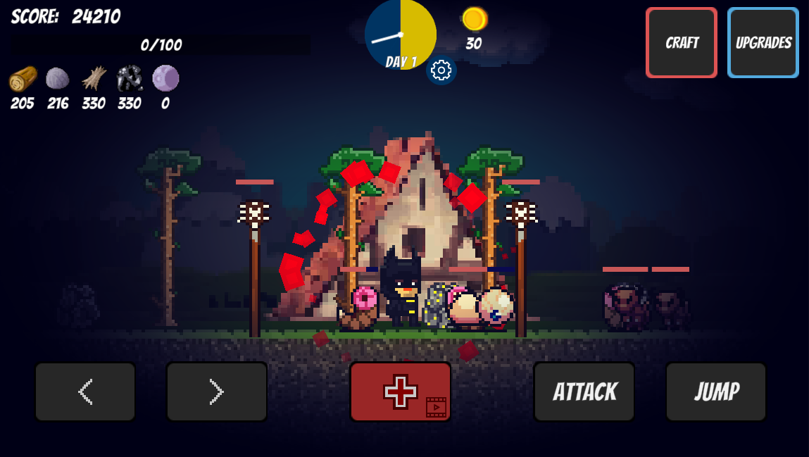 Pixel Survival Game Screenshot 3