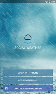 Social Weather screenshot for Android