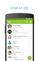 Screenshot of Kik
