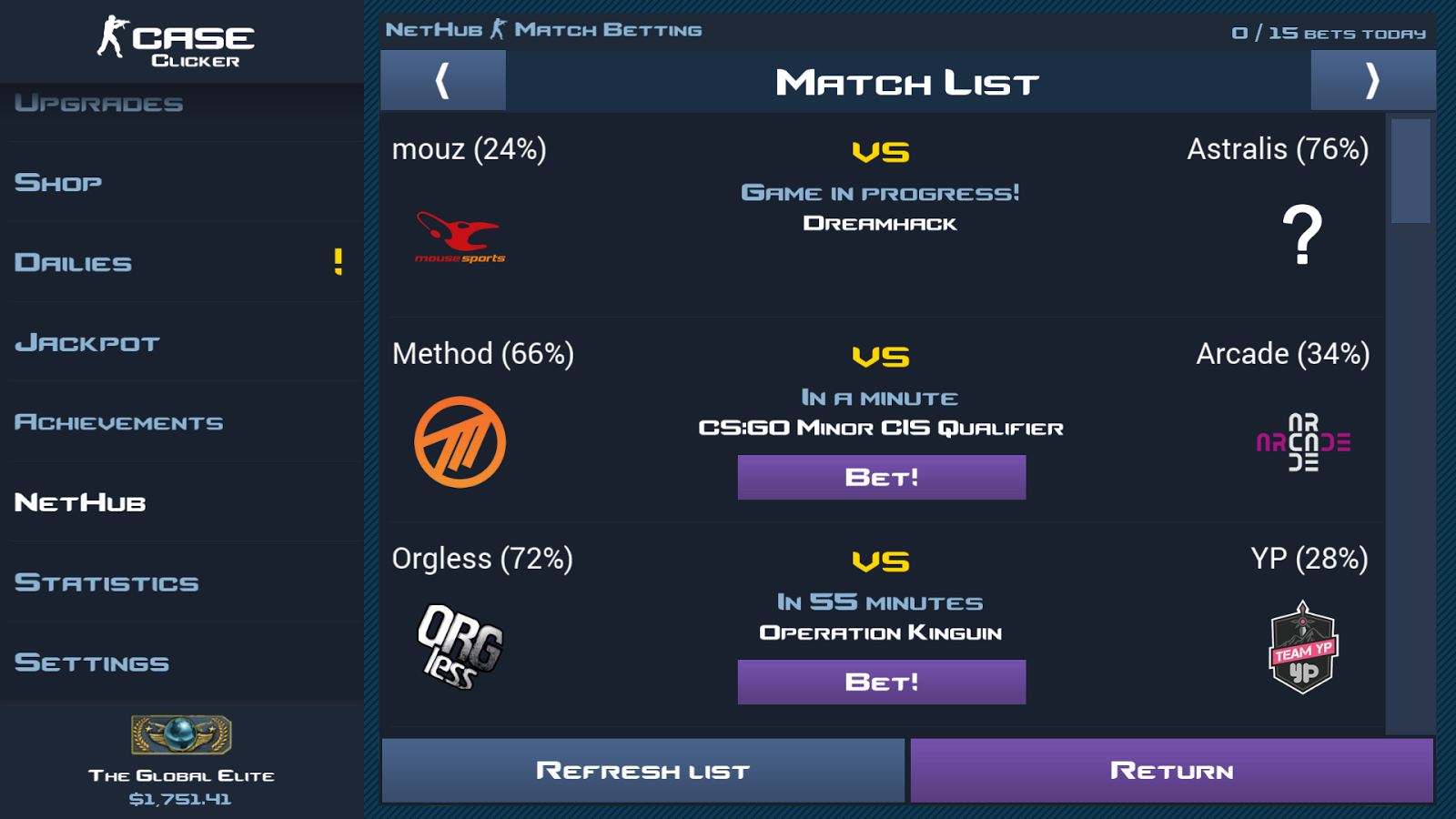 Case Clicker Screenshot 3