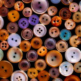 Old buttons by Roberto Sorin - Artistic Objects Clothing & Accessories ( different, nobody, sew, craft, fashion, clothing, colorful, plenty, retro, round, collection, through, circle, colour, style, accessory, button, stylish, dressmaking, various, tailor, needlewoman, seamstress, abstract, vintage, household, decoration, flat, wallpaper, attachment, variety, mix, many, sewing, pattern, color, item, background, tailoring, fastener, group,  )