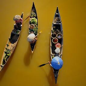 Jukung by Mac Evanz - Transportation Boats