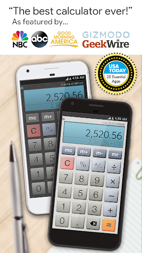 Calculator Plus Free screenshot 1