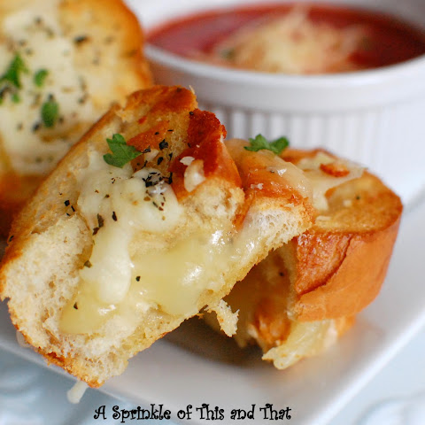 Italian Grilled Cheese Bites