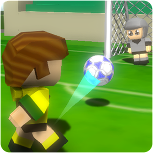 Soccer Dribble - Blocky Football League