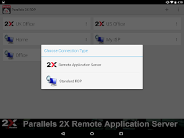 Screenshot of Parallels 2X RDP
