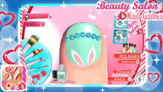 Beauty salon 3d nail games apk download apps on play store for 3d beauty salon games