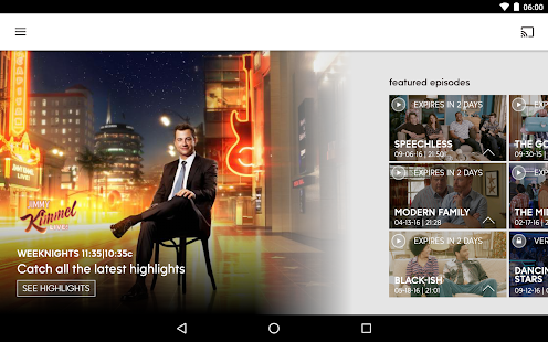 Download Android App ABC – Live TV & Full Episodes for Samsung