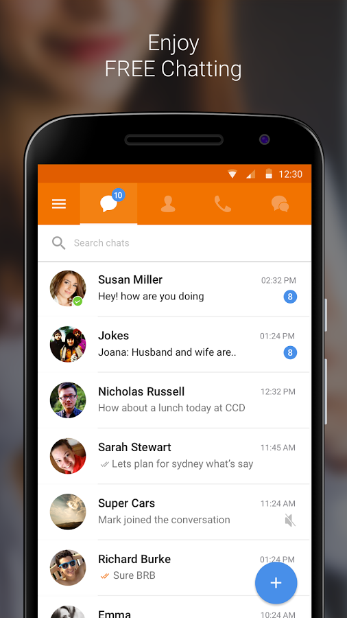 Nimbuzz Messenger / Free Calls Screenshot 0