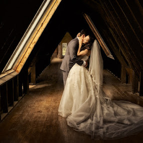by Ben Kopilow - Wedding Bride & Groom