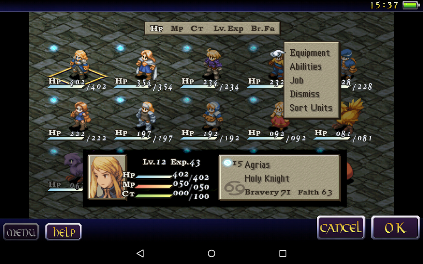 FINAL FANTASY TACTICS : WotL Screenshot 12