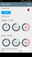 Screenshot of Waktu solat