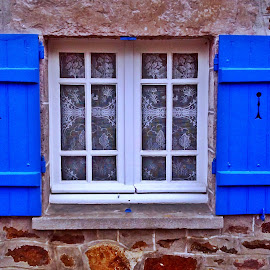 Window from Dahoet by Dobrin Anca - Buildings & Architecture Architectural Detail ( sky, window, dahoet, blue, drop )