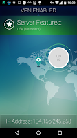 Screenshot of Spotflux VPN