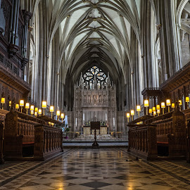 Bristol High Altar 1 by Neil Torr - Buildings & Architecture Places of Worship ( altar, cathedral, bristol cathedral, east, bristol )