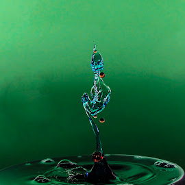 by Cathy Davies - Artistic Objects Other Objects ( water, artistic photography, splash, droplet, splash photography,  )