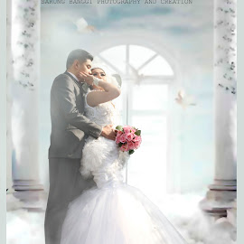 Bridal of Spring Time by Aaron Paul Balla - People Couples