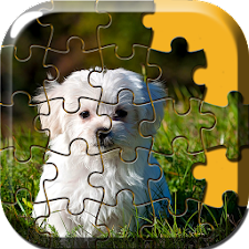 Cute Dog Puzzle Games