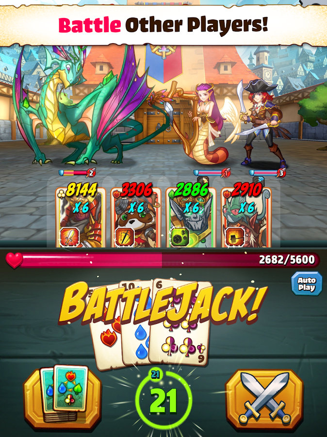 Battlejack: Blackjack RPG Screenshot 7