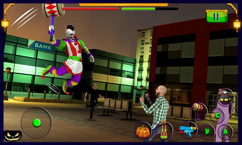 Scary Clown : Halloween Night Screenshot 1