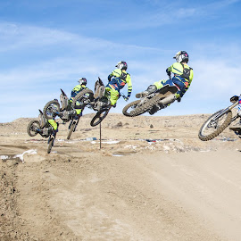Whip it hard by Zachary Zygowicz - Sports & Fitness Motorsports ( motocross, racing, sequence, dirtbikes, whip )