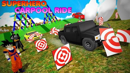 Superhero Color Cars (Supercity sim)