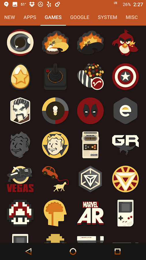 Saturate Icon Pack Screenshot 15