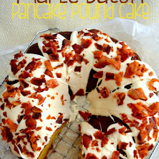Maple Bacon Pancake Pound Cake