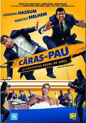 Filme Poster Os Caras de Pau em O Misterioso Roubo do Anel DVDRip XviD & RMVB Nacional