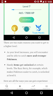 Guide for Pokemon GO- screenshot