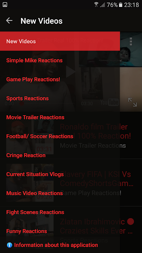 Simple Mike Reactions APK