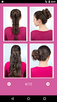 Best Hairstyles Step By Step APK screenshot thumbnail 8