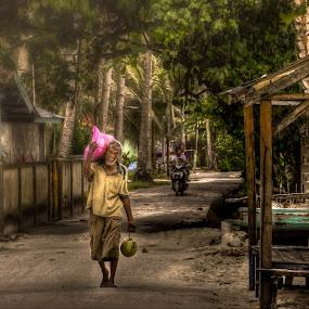 Walk  Alone .... by Ji Pan - People Portraits of Men ( hdr, man )
