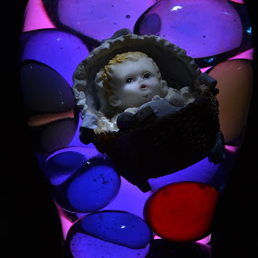Baby in Marbles by Kirk Arnaiz - Artistic Objects Other Objects