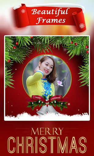 Christmas Photo Frame : Cake & Photo Card Maker For PC