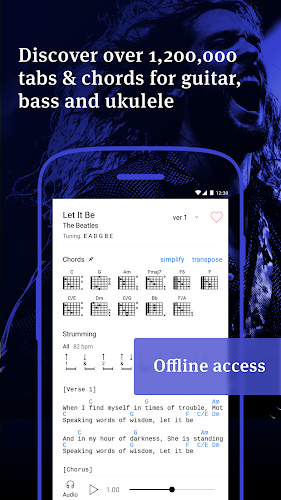 Ultimate Guitar Tabs & Chords Android App Screenshot