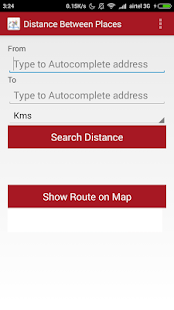 Route Planner & Route Finder - screenshot