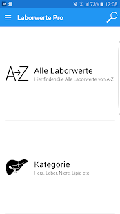 Laborwerte Pro 4 screenshot for Android