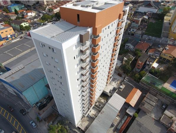 Apto residencial para locação de 51m² com 2 dorms/1 suíte no Centro de Diadema.