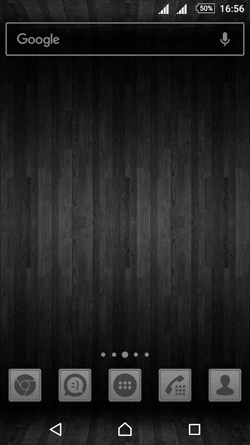 Wooden Icons Gray Screenshot 3