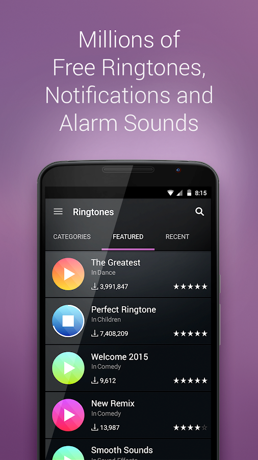 ZEDGE™ Ringtones & Wallpapers Screenshot 3