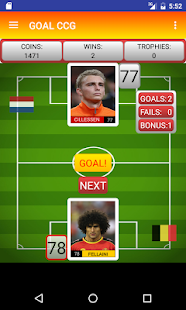 Goal Penalty Football Team - screenshot