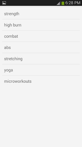Pocket Workouts Champion - screenshot