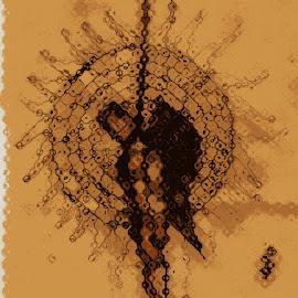 death  by Refat Bin Salam Rupam - Illustration Abstract & Patterns ( refat bin salam, rupam, refat, refats cartoon, rupams cartoon )