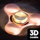Hand spinner camera 3d